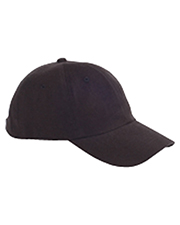 Big Accessories / BAGedge BX001 Unisex 6-Panel Brushed Twill Unstructured Cap