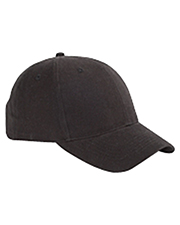 Big Accessories / BAGedge BX002   Unisex 6Panel Brushed Twill Structured Cap at GotApparel