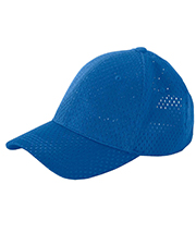 Big Accessories / BAGedge BX017  6-Panel Structured Mesh Baseball Cap at GotApparel
