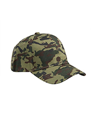 Big Accessories / BAGedge BX024 Structured Camo Hat at GotApparel