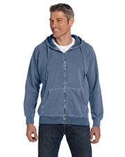 Comfort Colors C1563 Men 10 oz. Garment-Dyed Full Zip Hood at GotApparel