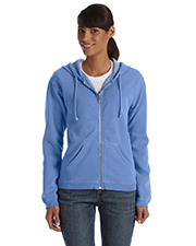 Comfort Colors C1598 Womens Garment-Dyed Full-Zip Hooded Fleece at GotApparel