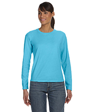 Comfort Colors C3014 Womens 5.4 oz. Ringspun Garment-Dyed Long-Sleeve T-Shirt at GotApparel