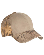 Port Authority C807 Unisex Camo Cap with Contrast Front Panel