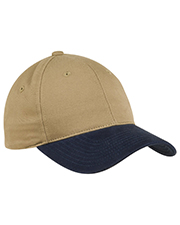 Port Authority C815 ® - 2-Tone Brushed Twill Cap.  at GotApparel