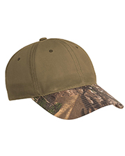 Port Authority C877 Men Pro Camouflage Series Cotton Waxed Cap with Brim