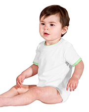 Precious Cargo Infant Short Sleeve 1-Piece with Shoulder Snaps