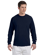 Champion CC8C   Men 5.2 oz. LongSleeve TShirt at GotApparel