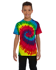 Tie-Dye CD100Y Youth 100% Cotton d T-shirt at GotApparel