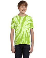 Tie-Dye CD110Y Youth 5.4 oz., 100% Cotton Twist d T-Shirt at GotApparel