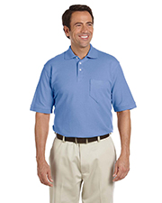Chestnut Hill CH100P  Mens Performance Plus Pique Polo with Pocket at GotApparel