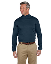 Chestnut Hill CH230 Men Pima Mock Turtleneck at GotApparel