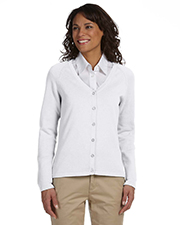 Chestnut Hill CH405W  Ladies Buttoned Cardigan at GotApparel