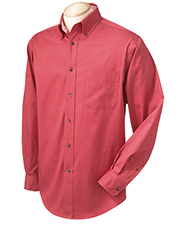 Chestnut Hill CH605 Men Performance Plus L/S Twill