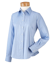 Chestnut Hill CH620W Womens Executive Performance Pinpoint Oxford at GotApparel