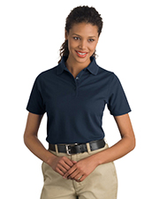 CornerStone CS403 Women Industrial Pique Polo at GotApparel
