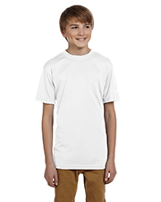 Champion CW24   Boys Double Dry Youth 4.1 oz. Interlock TShirt at GotApparel