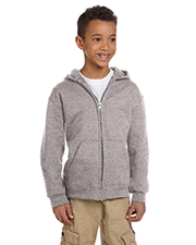 Youth 9 Oz., 50/50 Full-Zip Hoodie