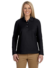 Devon & Jones Classic D110W  Ladies Long Sleeve Polo at GotApparel