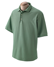 Devon & Jones Classic D120  Tipped Pique Polo at GotApparel