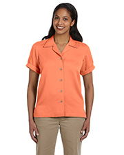 Devon & Jones Classic D670W  Ladies Isla Camp Shirt at GotApparel