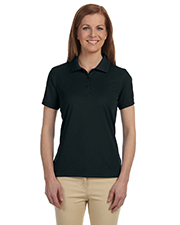 Devon & Jones Blue DG385W Ladies Dri-Fast™ Advantage™ Solid Mesh Polo at GotApparel