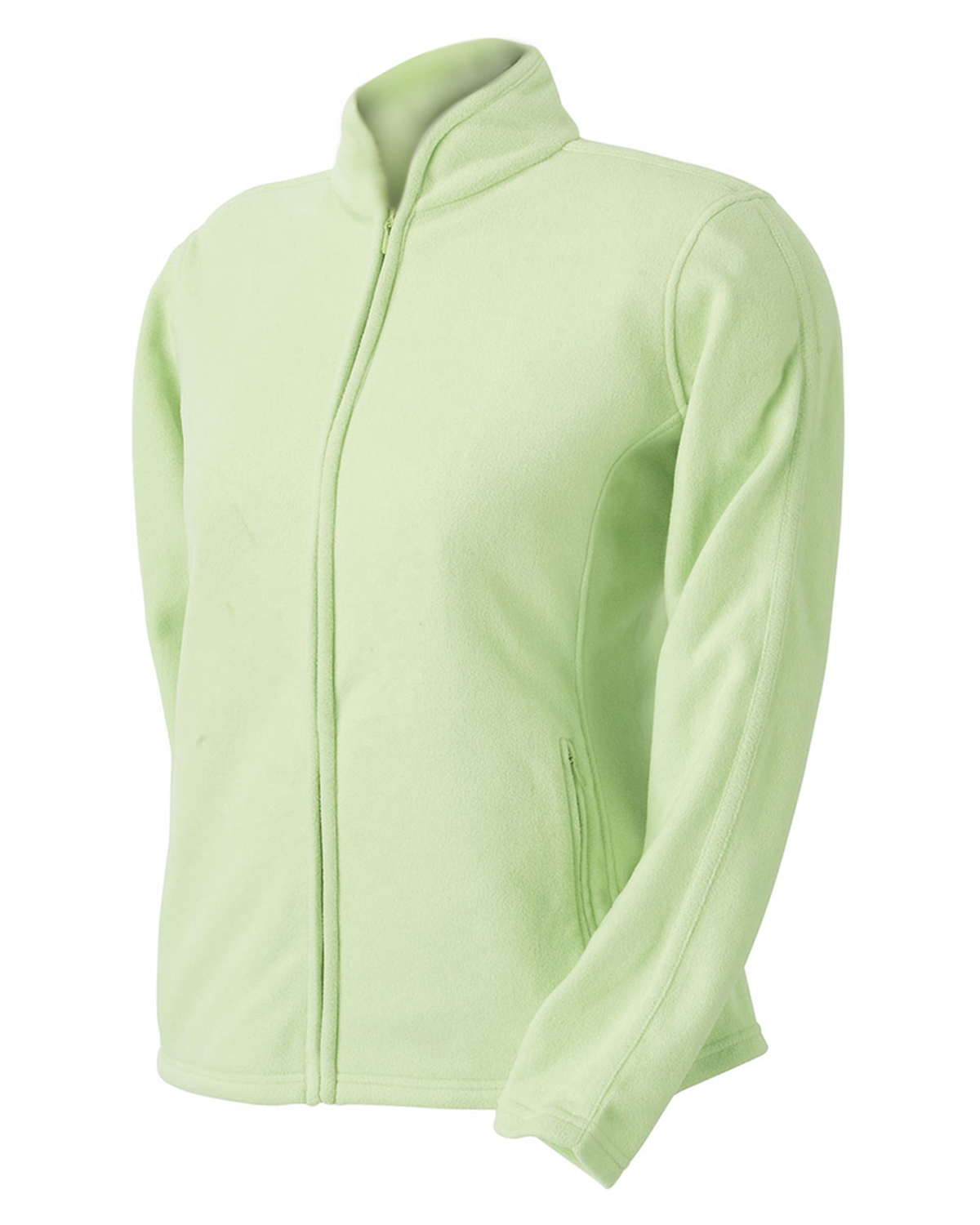 Devon & Jones Pink DP945W  Ladies Plush Fleece Jacket at GotApparel