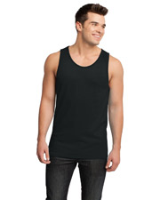 District DT1500 Adult Cotton Ringer Tank