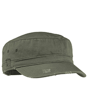District Threads DT605 District® Distressed Military Cap DT 605 at GotApparel
