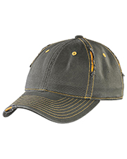 District Threads DT613 District® Pinstripe Herringbone Cap  at GotApparel