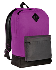 District DT715 Unisex Retro Backpack