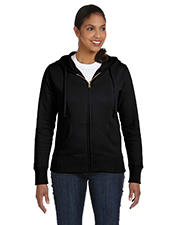 Econscious EC4501 Women 9 oz. Organic/Recycled FullZip Hood at GotApparel
