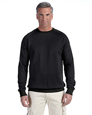 Econscious EC5050 Adult 7 oz. Organic/Recycled Heathered Fleece Raglan Crew at GotApparel