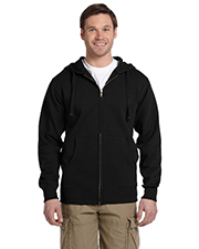 eConscious EC5650 Mens Organic/Recycled Full-Zip Hood at GotApparel