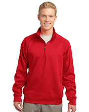 Sport-Tek F247 Men Tech Fleece 1/4-Zip Pullover at GotApparel