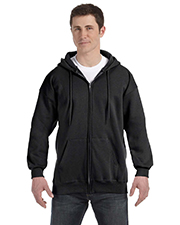 Hanes F280 Men 9.7 oz. Ultimate Cotton 90/10 Full Zip Hood at GotApparel