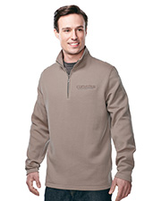 Tri-Mountain F595 Men's 1/4 Zip Sweatshirt at GotApparel