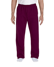 Gildan G123 Men DryBlend 9.3 oz., 50/50 Open-Bottom Sweatpants