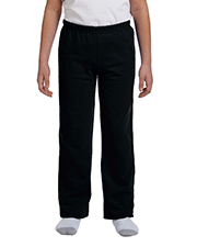 Gildan G184B Youth Heavy Blend 50/50 Open-Bottom Sweatpant at GotApparel