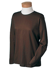 Gildan G240L Ladies 6.1 oz. Ultra Cotton® Long-Sleeve T-Shirt at GotApparel