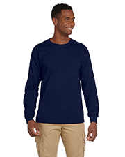 Gildan G241 Men Ultra Cotton 6 oz. LongSleeve Pocket TShirt