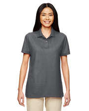 Gildan G728L Women DryBlend 6.3 oz. Double Pique Sport Shirt at GotApparel