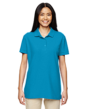 Gildan G828L Women Premium Cotton 6.5 oz. Double Pique Sport Shirt at GotApparel