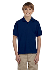 Gildan G880B Boys DryBlend 5.6 oz., 50/50 Jersey Polo at GotApparel