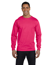 Fruit of the Loom HD6LR Men 6 oz., 100% Cotton Lofteez HD LongSleeve TShirt