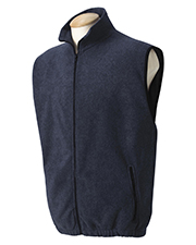 Harvard Square HS149 Full-Zip Fleece Vest at GotApparel