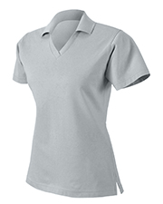 Harvard Square HS355 Women Pima Reserve V-Neck Sport Shirt