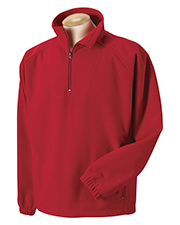 Harvard Square HS955 Booth Bay Soft Shell 1/4-Zip Fleece Pullover at GotApparel