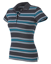 Hyp Sportswear Ladies Newport Sheer Polo in Solid or Stripe