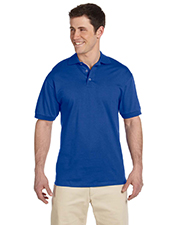 Jerzees J100 Men 6.1 oz. Heavyweight Cotton Jersey Polo